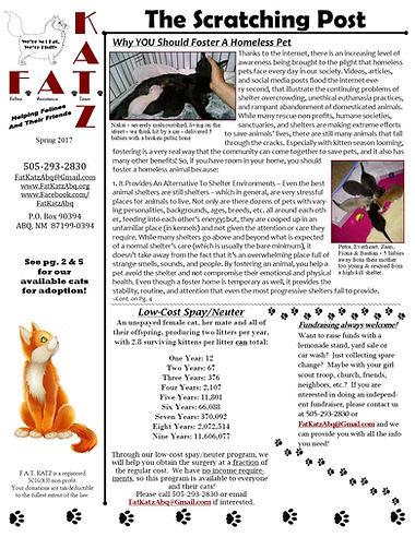Mar. '17 newsletter