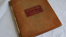 An Inventory of Linen 1852