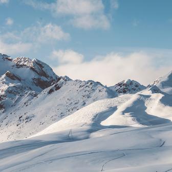 Snowboarding on the Kitzsteinhorn