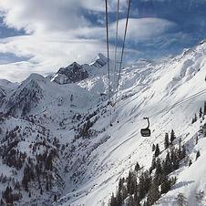 Skiing on the Kitzsteinhorn