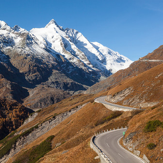 Cycling on the Grossglockner High Alpine Road