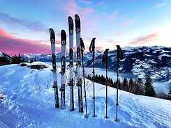 Ski touring and skiing in Zell am See Kaprun on the Schmittenhöhe mountain