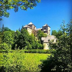 Visiting castles in Salzburgerland in Austria