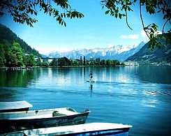 SUP and Stand Up Paddle Boarding on Lake Zell