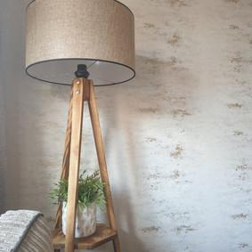 Rustic lamp in the Bergner Alm apartment