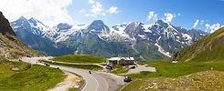 Driving on the Grossglockner High Alpine Road