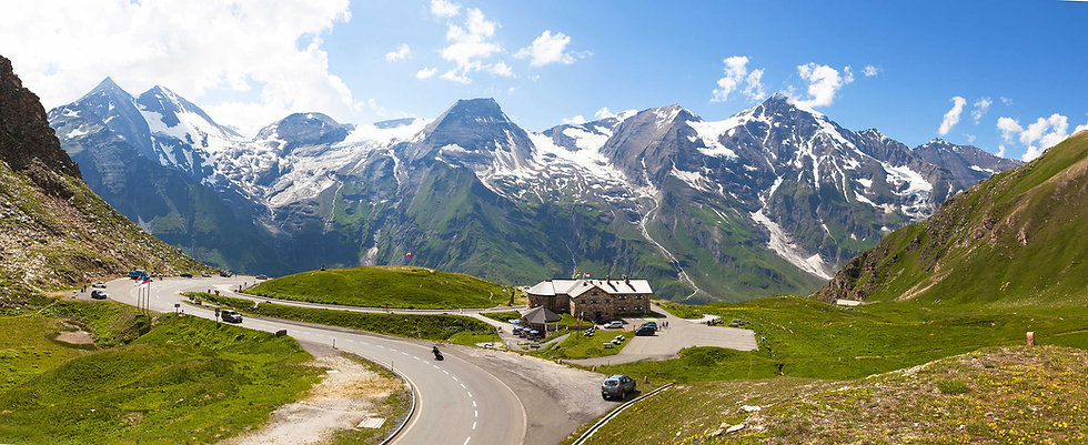 Cycling on the Grossglockner Hoch Alpine Road for the Glocknerkönig Competition