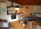 Cosy kitchen and dining room area in the Kandl Spitze apartment
