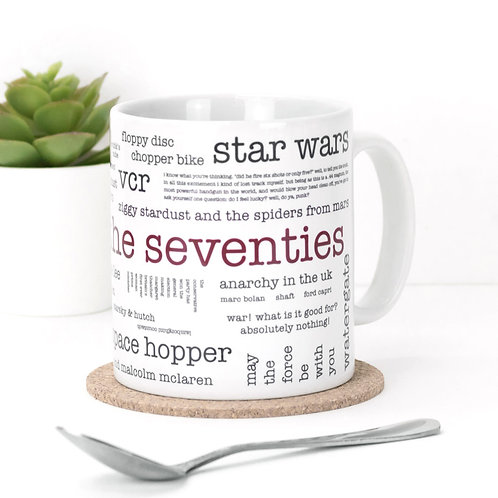 Born in the Seventies Mug x 3