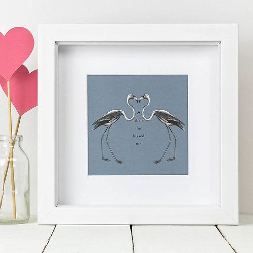 Flamingo Square Print x 10 (Mega Discount Bundle £1.75 EACH)