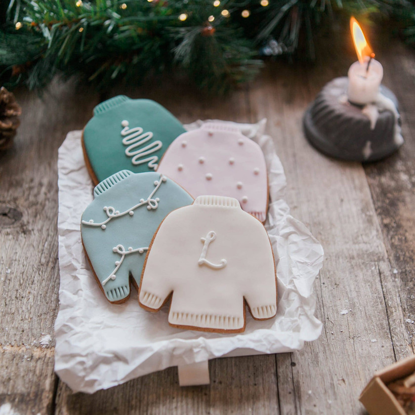 Christmas Jumper Biscuit Gift