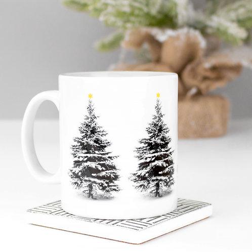 Scandi Christmas Tree Mug