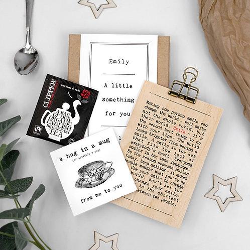 Hug in a Mug Smile Letterbox Gift