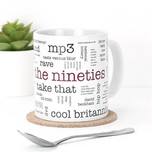 Born in the Nineties Mug x 3