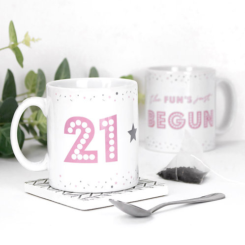 21 The Fun's Begun Precious Metals Mug x 3