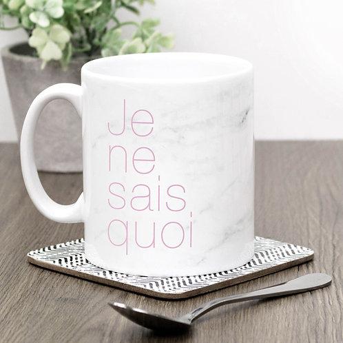 Precious Metals JE NE SAIS QUOI Mug x 3