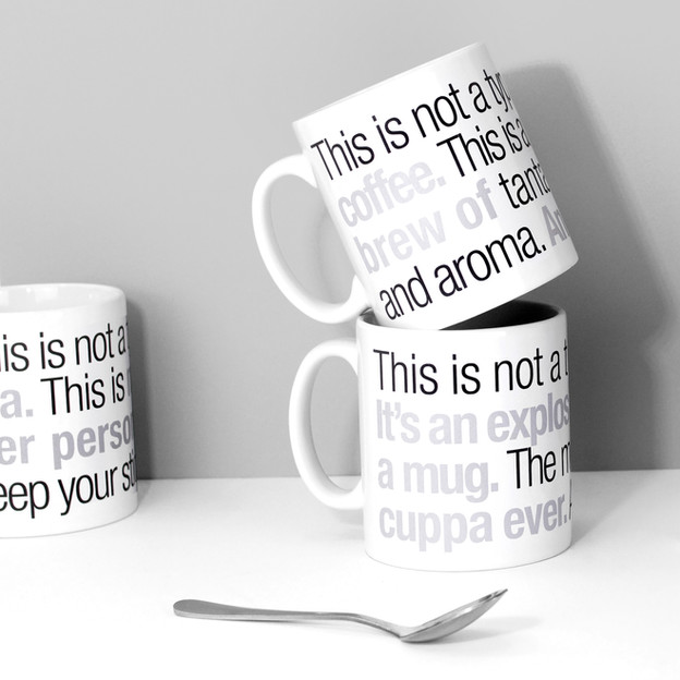 Not a Typical Bold Type Mugs