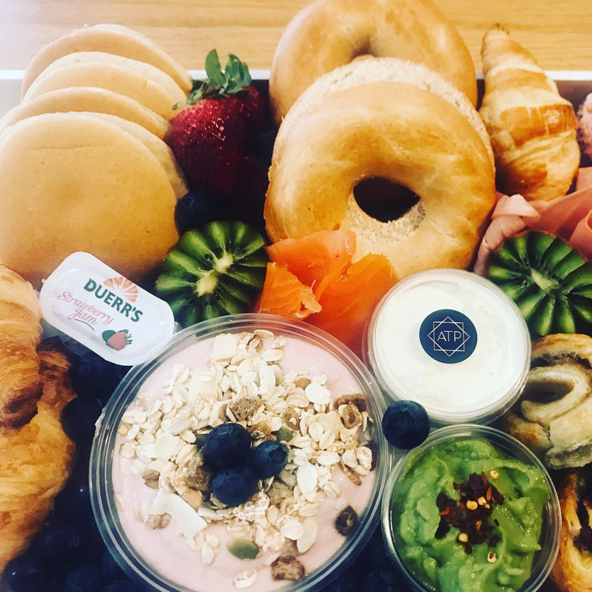 Amazing Brunch Food Gift by All That Platters