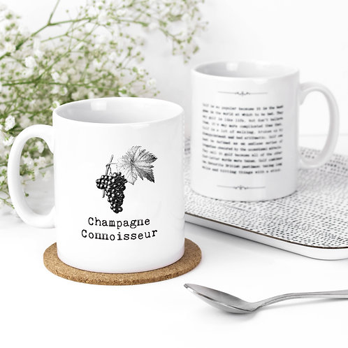 Champagne Lover Quotes Funny Mug