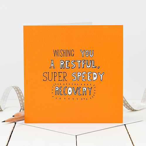 Get Well Soon Recovery Doodle Card x 6