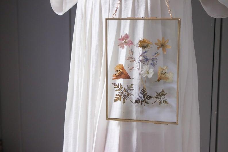 Dried Flower Framed Wall Art