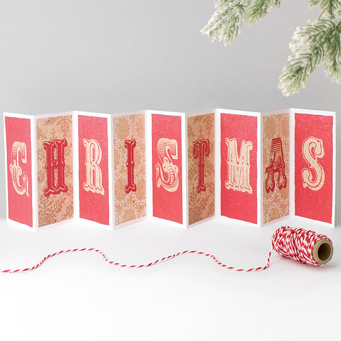Christmas Scandi Banner Card