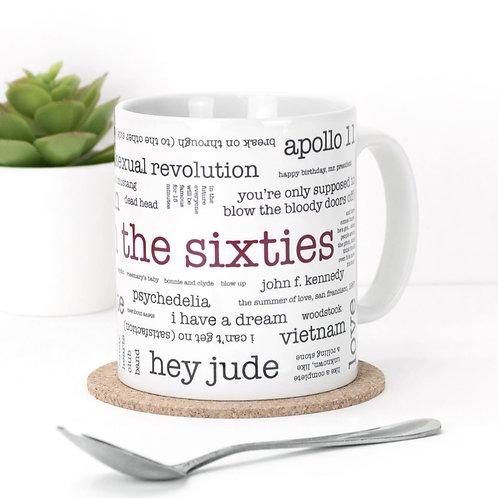 Born in the Sixties Mug x 3