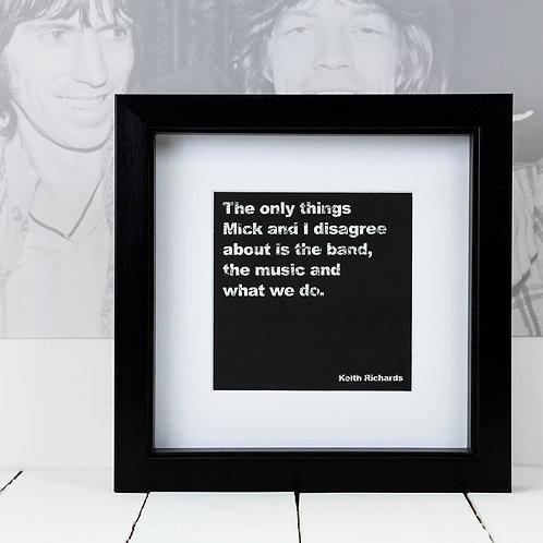 Rolling Stones Square Print x 10 (Mega Discount Bundle £1.75 EACH)