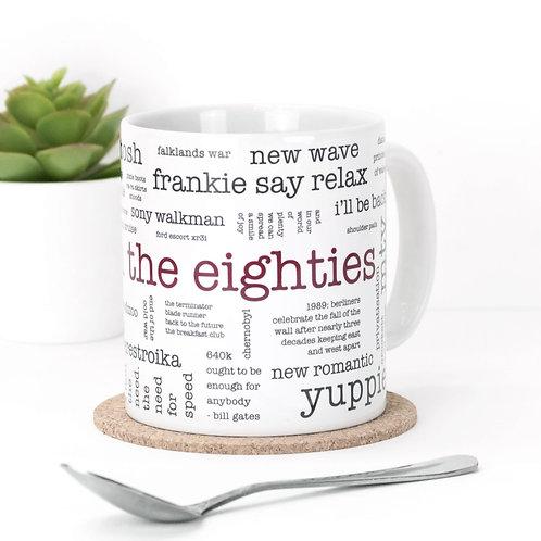 Born in the Eighties Mug x 3