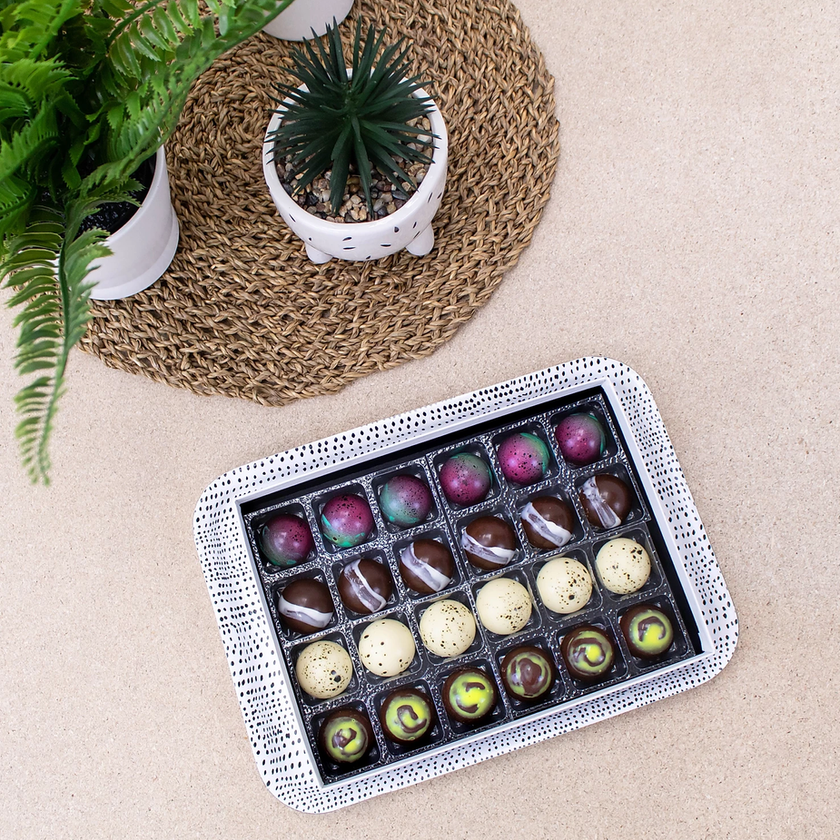 Explore Chocolate Truffles Artisan Gift Set