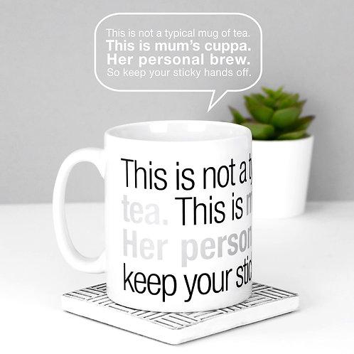 Mum's Cuppa Tea Mug