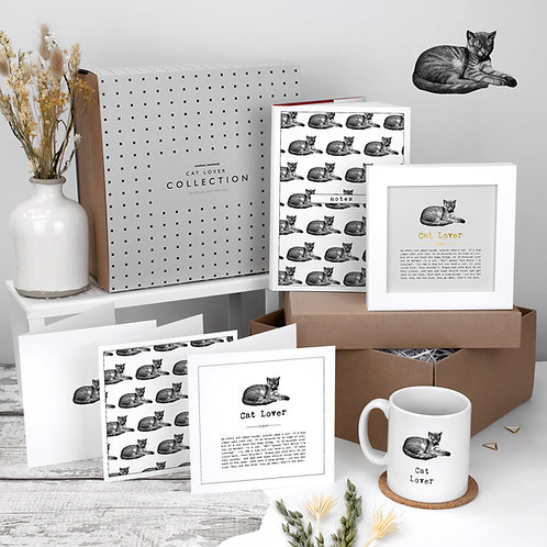Cat Lover Luxury Themed Gift Box
