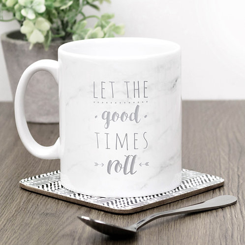 Precious Metals GOOD TIMES ROLL Mug x 3