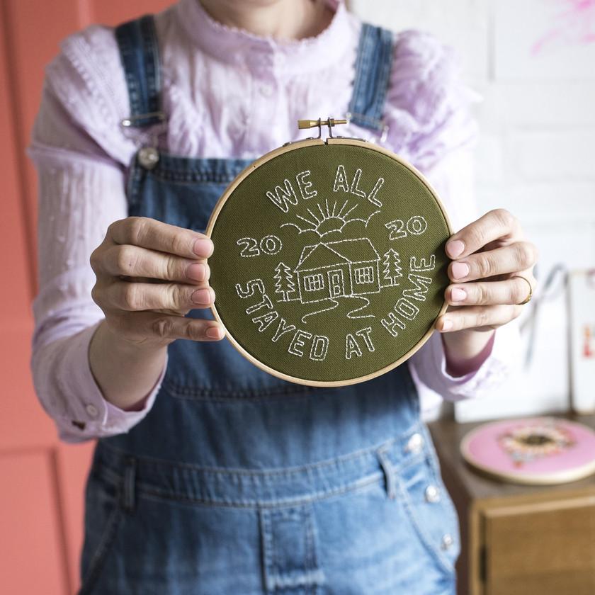 Cotton Clara Embroidery Kit