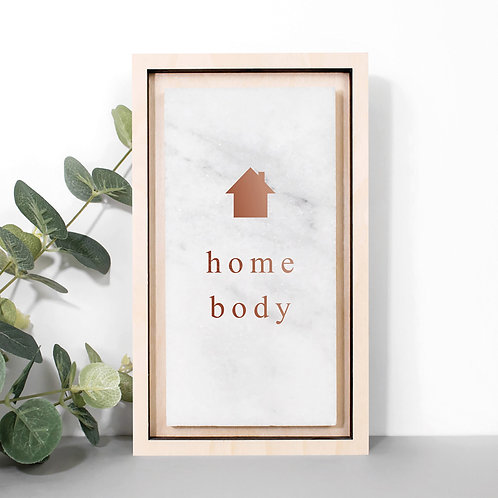 Home Body Marble Stone New House Plaque