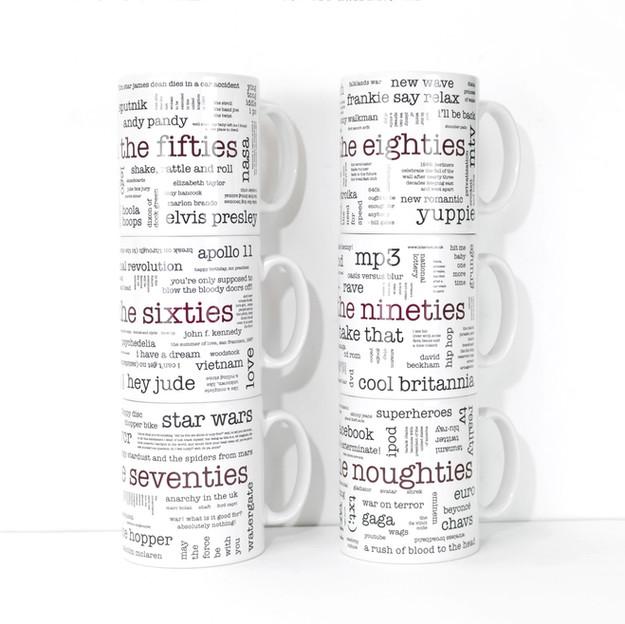 Word Cloud Mugs