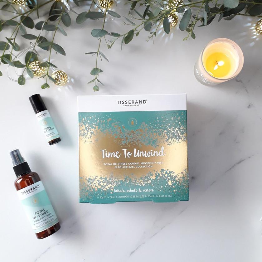 Tisserand Time to Unwind Box Aromatherapy Gift