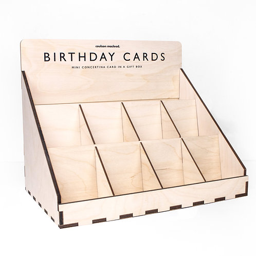 POS Unit for Mini Boxed Concertina Cards (Unfilled)