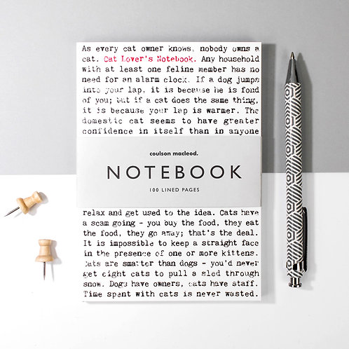Wise Words A6 Pocket Notebook for Cat Lovers