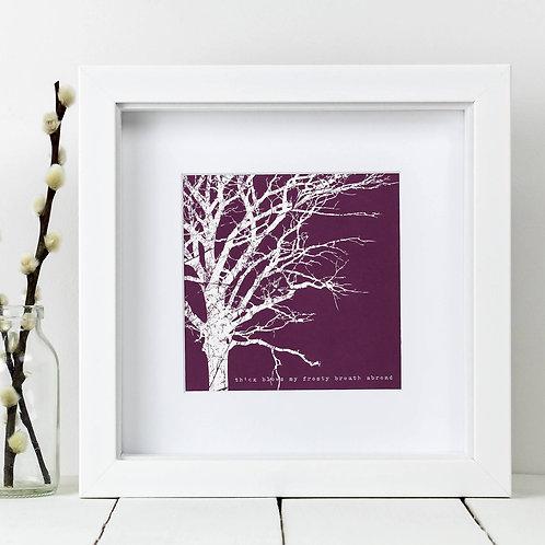 Purple Tree Square Print x 10 (Mega Discount Bundle £1.75 EACH)
