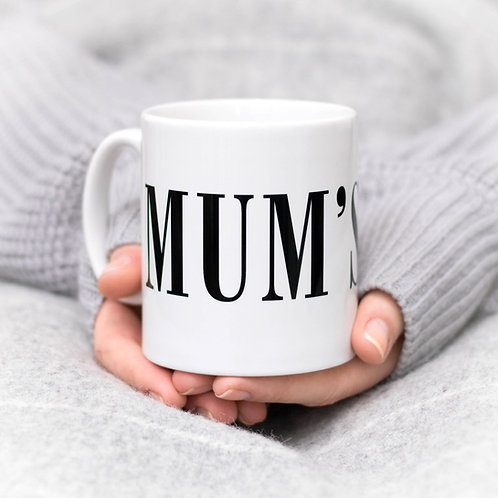 Monochrome MUM'S TEA Mug