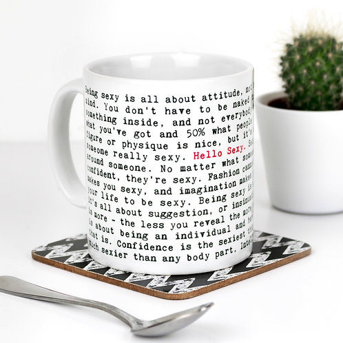 Wise Words SENTIMENT Mugs (8 Designs)