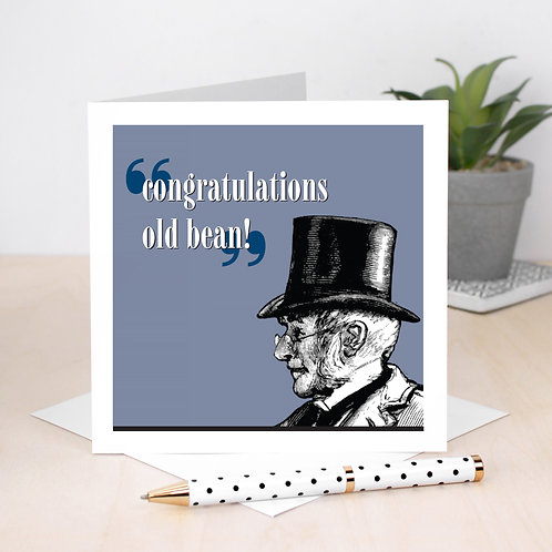 Congratulations Card for Him