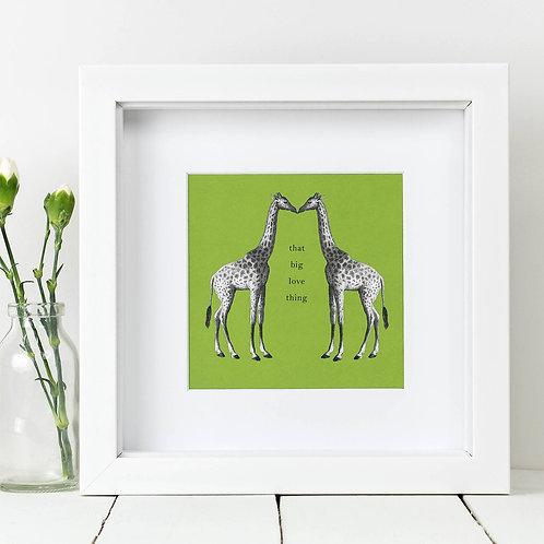 Giraffe Square Print x 10 (Mega Discount Bundle £1.75 EACH)
