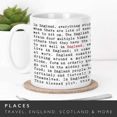 Wise Words PLACES Mugs (5 Designs) x 3