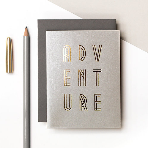 ADVENTURE Mini Metallic Card | Precious Metals