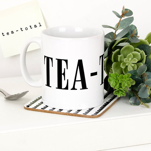Monochrome TEA-TOTAL Mug