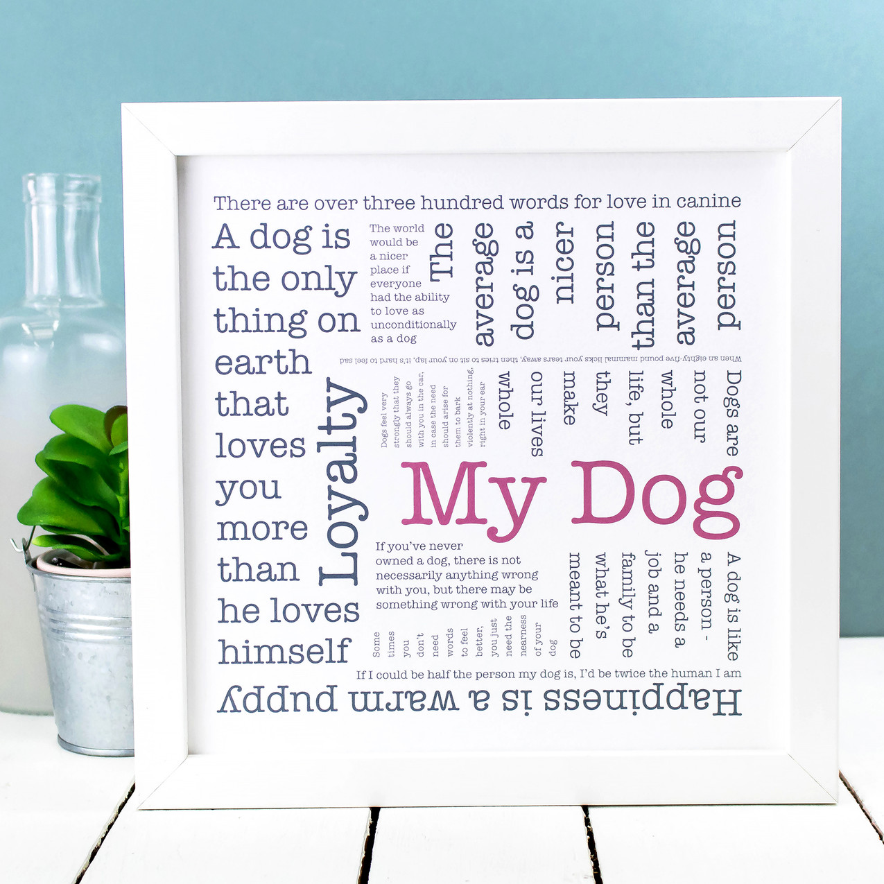 Word Cloud - My Dog