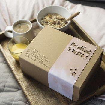 Breakfast in Bed Gift Box by Fora Creative