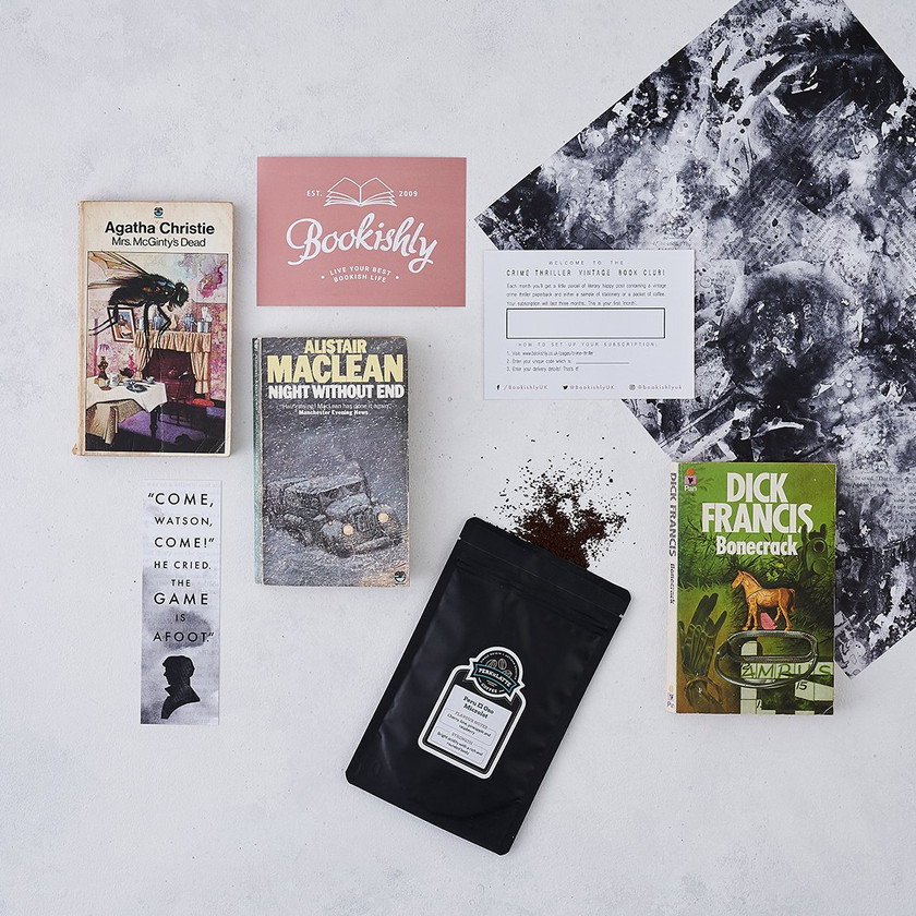Bookishly Classic Book Club Subscription Gift Box